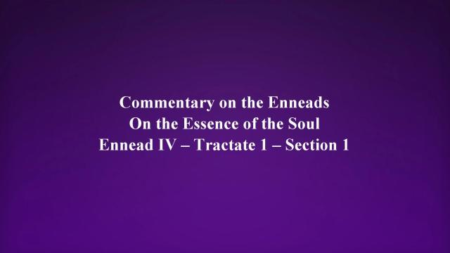On the essence of the soul