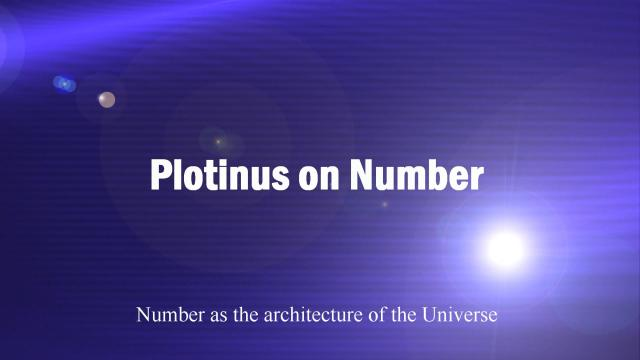 Plotinus on Number - Pic 1